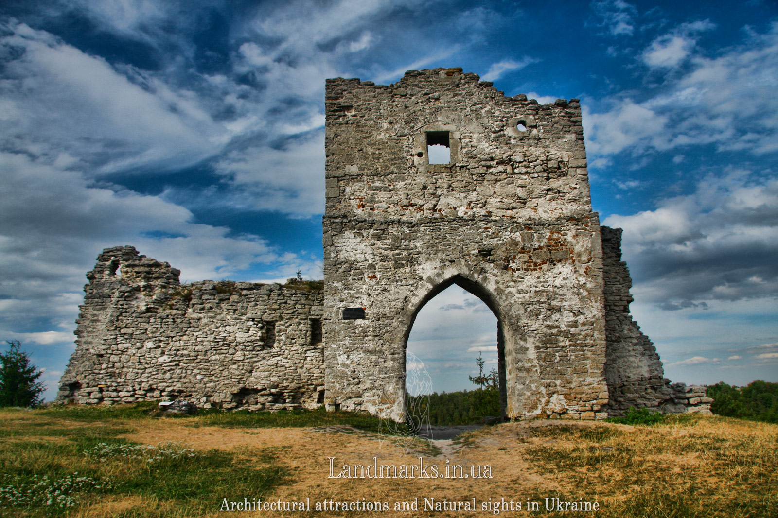 Castles and temples of Ukraine